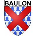 Baulon 35 ville Stickers blason autocollant adhésif