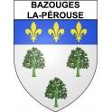 Bazouges-la-Pérouse 35 ville Stickers blason autocollant adhésif
