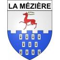 La Mézière 35 ville Stickers blason autocollant adhésif
