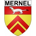 Stickers coat of arms Mernel adhesive sticker