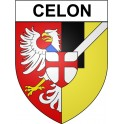 Stickers coat of arms Celon adhesive sticker