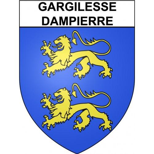 Gargilesse-Dampierre 36 ville Stickers blason autocollant adhésif
