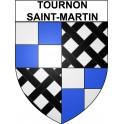Tournon-Saint-Martin 36 ville Stickers blason autocollant adhésif