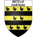 Stickers coat of arms Betz-le-Château adhesive sticker