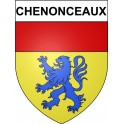 Stickers coat of arms Chenonceaux adhesive sticker
