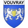 Stickers coat of arms Vouvray adhesive sticker