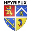 Stickers coat of arms heyrieux adhesive sticker