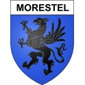 Stickers coat of arms Morestel adhesive sticker