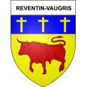 Stickers coat of arms Reventin-Vaugris adhesive sticker