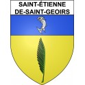 Stickers coat of arms Saint-étienne-de-Saint-Geoirs adhesive sticker