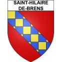 Stickers coat of arms Saint-Hilaire-de-Brens adhesive sticker