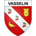 Stickers coat of arms Vasselin adhesive sticker