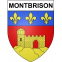 Stickers coat of arms Montbrison adhesive sticker