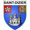 Stickers coat of arms Saint-Dizier adhesive sticker