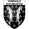Pegatinas escudo de armas de Bazas adhesivo de la etiqueta engomada