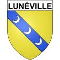 Stickers coat of arms Lunéville adhesive sticker