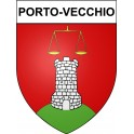 Stickers coat of arms Porto-Vecchio adhesive sticker