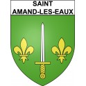 Stickers coat of arms Saint-Amand-les-Eaux adhesive sticker