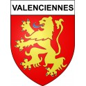 Valenciennes 59 ville Stickers blason autocollant adhésif