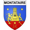Stickers coat of arms Montataire adhesive sticker