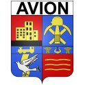 Stickers coat of arms Avion adhesive sticker