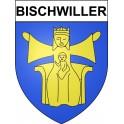 Bischwiller 67 ville Stickers blason autocollant adhésif
