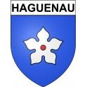 Haguenau 67 ville Stickers blason autocollant adhésif