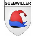 Guebwiller 68 ville Stickers blason autocollant adhésif
