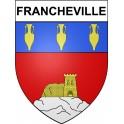 Francheville 69 ville Stickers blason autocollant adhésif