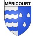 Méricourt 69 ville Stickers blason autocollant adhésif