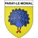 Paray-le-Monial 71 ville Stickers blason autocollant adhésif