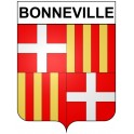 Stickers coat of arms Bonneville adhesive sticker