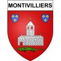 Montivilliers 76 ville Stickers blason autocollant adhésif