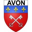 Avon 77 ville Stickers blason autocollant adhésif