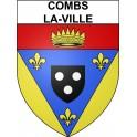 Combs-la-Ville 77 ville Stickers blason autocollant adhésif