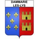 Dammarie-les-Lys 77 ville Stickers blason autocollant adhésif