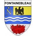 Fontainebleau 77 ville Stickers blason autocollant adhésif
