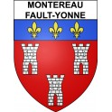 Stickers coat of arms Montereau-Fault-Yonne adhesive sticker