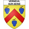 Stickers coat of arms Verneuil-sur-Seine adhesive sticker