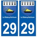 29 Le Relecq-Kerhuon blason autocollant plaque stickers ville