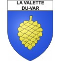 Stickers coat of arms La Valette-du-Var adhesive sticker