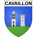 Stickers coat of arms Cavaillon adhesive sticker