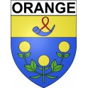 Stickers coat of arms Orange adhesive sticker