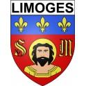 Limoges 87 ville Stickers blason autocollant adhésif