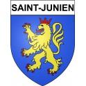Saint-Junien 87 ville Stickers blason autocollant adhésif