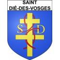 Saint-Dié-des-Vosges 88 ville Stickers blason autocollant adhésif