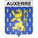 Auxerre 89 ville Stickers blason autocollant adhésif