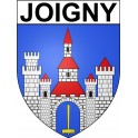 Joigny 89 ville Stickers blason autocollant adhésif