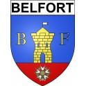 Belfort 90 ville Stickers blason autocollant adhésif