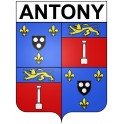 Antony 92 ville Stickers blason autocollant adhésif